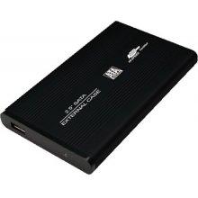 LogiLink HDD korpus must SATA, USB2.0, 2.5