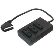 V7 SCART, 3-way, SCART, Nickel, чёрный