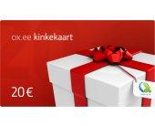 OX.ee kinkekaart 20 €