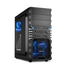 Korpus Sharkoon VG4-W BLUE ATX TOWER