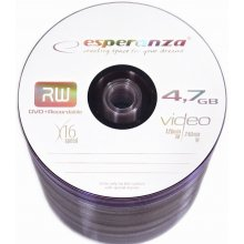 Диски ESPERANZA DVD+Rx16 4,7GB spindle 100