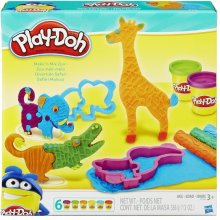 HASBRO Play-Doh Safari Knetwelt