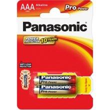 PANASONIC Pro Power AAA/LR03, Alkaline, 2...