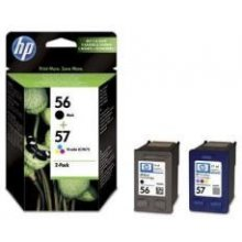 HP INK CARTRIDGE COMBO PACK NO.56//57...