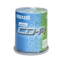 Диски Maxell диск cd-r 700MB 52x cake 100