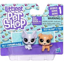 HASBRO Littlest Pet Shop 2 pack, Pitbull ja...