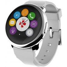 MyKronoz Smartwatch ZeRound hõbedane valge