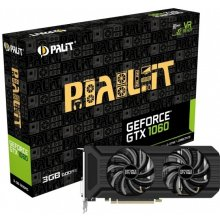 Видеокарта PALIT GeForce GTX 1060 DUAL 3GB...
