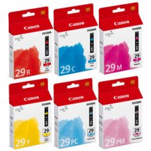 Тонер Canon PGI-29 C/M/Y/PC/PM/R, Cyan...