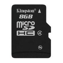 Mälukaart KINGSTON Micro SDHC 8GB Class 4...