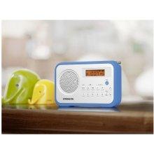 Радио Sangean PR-D18 белый / синий