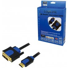 LogiLink - kaabel HDMI-DVI High Quality 5m