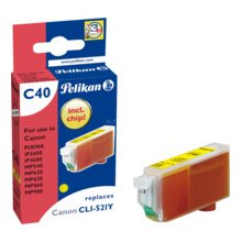 Tooner Pelikan Patrone Canon C40 CLI521 y...