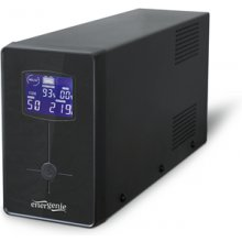 UPS EnerGenie with LCD display, Black 650...