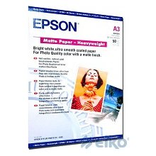 Epson Paper heavyweight фото A3 50sh матовый
