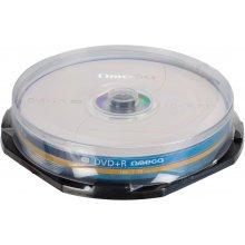 Toorikud OMEGA DVD+R 4,7GB 16x 10tk tornis