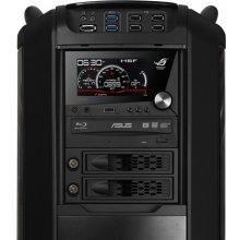 Asus ROG Front Base, Black, LCD