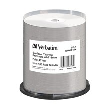 Диски Verbatim CD-R 700MB 52X 100ER SPINDLE