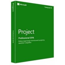 Microsoft Project Pro 2016 PL Medialess...