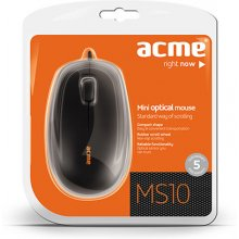 Мышь Acme MS10 Mini оптическая wired, 5...