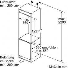 Külmik BOSCH KIL42VS30 Einbau-Kühlautomat...
