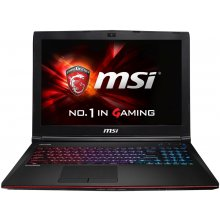 Sülearvuti MSI GE62-6QD161 W10