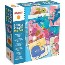 Liscianigiochi Puzzle 8in1 Sea