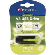 Флешка Verbatim Store ´n´ Go V3 16GB зелёный