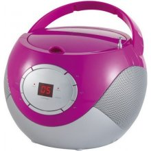 Raadio ADLER CD Player (boombo x) pink...