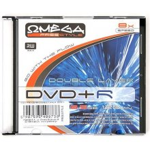 Toorikud OMEGA Freestyle DVD+R DL Double...