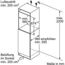 Холодильник BOSCH KIR21VS30 (EEK: A++)
