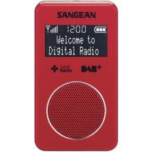 Raadio Sangean DPR-34 DAB+ punane