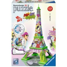 RAVENSBURGER 216 ELEMENTS 3D Eiffel Tower...