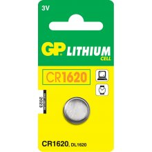 GP Batteries CR1620 liitium Cell, liitium...