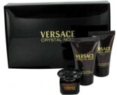 Versace Crystal Noir Set (EDT 5ml + Body...