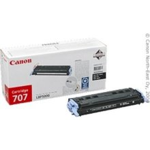 Tooner Canon Toner Cartridge 707 BK black