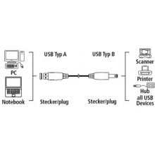 Hama 78463 USB2:0-Verbindungskabel USB2.0...