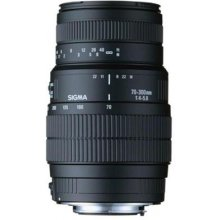 Sigma 70-300mm f/4-5.6 DG Macro lens for...