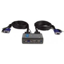 D-LINK KVM-221 2-Port USB KVM Switch с Audio...