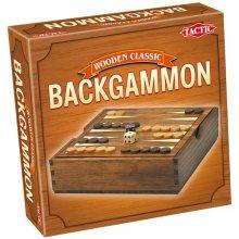 TACTIC Gra Wooden Classi c - Backgammon