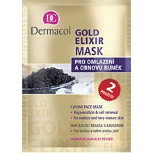 Dermacol Gold Elixir Mask, Cosmetic 16ml...