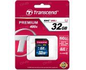 Transcend memory card SDHC 32GB Class10...