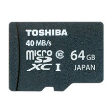 Mälukaart TOSHIBA microSDXC Class 10 High...