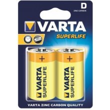 VARTA zinc carbon batteries R20 (typ D) 2pcs...