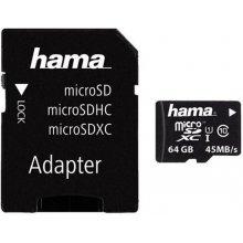 Mälukaart Hama microSDXC 114735 Class 10...
