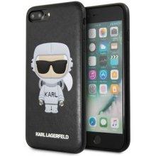buy online 319c3 094a7 Karl Lagerfeld Case hardcase iPhone 7/8 Plus KLHCI8LKSCO black Karl Space  Cosmonaut