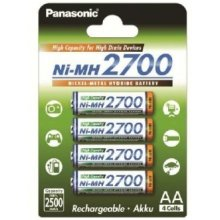 PANASONIC AA/HR6, 2450 mAh, Rechargeable...