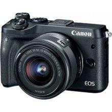 Фотоаппарат Canon EOS M6 + EF-M 15-45 мм IS...