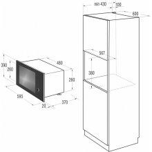 Микроволновая печь GORENJE oven BM6240SY2B