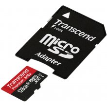 Флешка Transcend память card microSDXC 128GB...